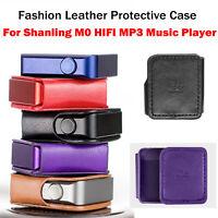 Für Shanling M0 HIFI MP3 MusikPlayer Leder SchutzhülleTasche Aufbewahrungstasche