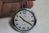 Vintage Old German Made Umf Ruhla  Pocket  Watch