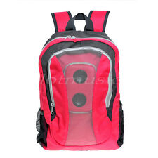 Fashion Mp3 Boom Speaker Backpack Book Bag with Black Battery Cover (No battery)
