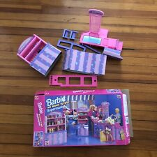 Vintage Barbie 1990's Supermarket Grocery Store Food Shelf Cart Checkout 9486