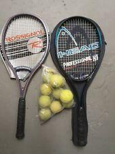 2 Tennisschläger 1x Head  und  1x Rossignol gebraucht