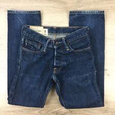 Abercrombie & Fitch Straight Blue Denim Boy's Jeans Size 8 W25 L25 (AB7)