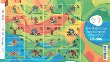 Brazil 2015 - Olympic & Paralympic Games Rio 2016 Ver1, Sheet of 20 Stamps - MNH