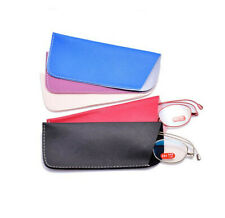 Portable Eyeglasses Case Waterproof Leather Glasses Protector Bag Pouch Holder