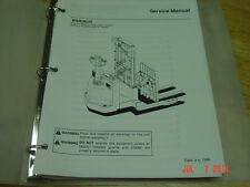 NISSAN Model WSR(N)30  OEM Forklift Service Manual 1998 LQQK!