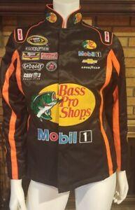 Chase Authentics Stewart-Hass Nascar Bass Pro Racing Jacket Womens Size XS