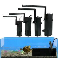 Aquarium Fish Tank Filter Internal Water Submersible Pump Oxygen Spray Tool