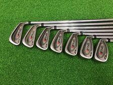 NICE Wilson Staff Golf FATSHAFT FS Iron Set 3-9 Right Steel STIFF Used Mens