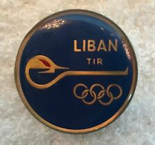 1970's ? Lebanon Olympic Noc Athlete Pin Nice!