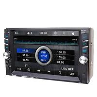 """6.6"""" Double 2 Din Car In-Dash Stereo Radio MP5 Player Bluetooth USB/SD/FM iPod"""