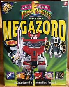 1991 - 1993 Bandai MMPR Mighty Morphin Power Rangers Dino Megazord 100% Complete