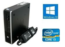 Cheap Fast Small HP Core I3 3.1Ghz Desktop 120GB SSD 4GB DVD Windows 10 Computer