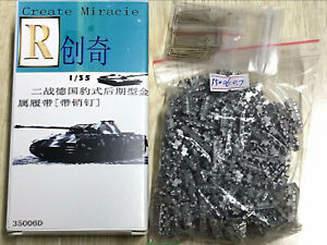 R-Model 1/35 35006D Metal Track and Metal Pin For Panther A/G/F LATE type