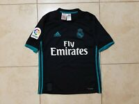 Real Madrid Away football shirt 2017/2018 Jersey Young L Growth 164 Adidas