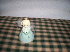 Precious Moments May Angel Birthstone Figurine 2004 Feather Wings Great Conditin