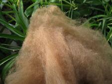 100% Mongolia  Camel Wool Fiber Fibre Carded Roving Spinning Felting- 100g
