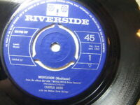 "Charlie Byrd – Meditation (Meditacao) 1962 7"" Riverside 106910 RIF"