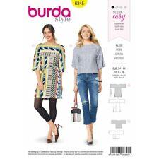 Burda Estilo Patrón De Costura 6252 para mujer de opciones de longitud faldas de detalle de botones
