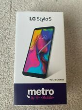 LG Stylo 5 LMQ720 - 32GB - Silvery White (Metro By T-Mobil) Smart Phone.