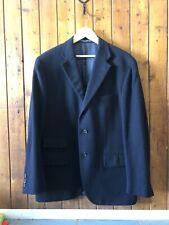 Ralph Lauren Polo Blue Label 100% Cashmere Blazer Jacket Navy Size 40