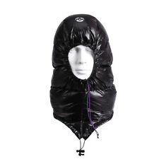 AEGISMAX Outdoor Ultralight Goose Down Hat Cap For Envelope Mummy Sleeping Bag