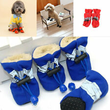 Waterproof Dog Shoes Rain Booties Rubber Anti-slip Shoe for Small Dog Puppy HG
