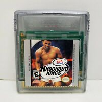 Knockout Kings (Nintendo Game Boy Color, 1999) - Tested. Sanitized. Fast Ship