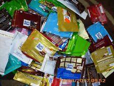 10 Ritter Sport Schokoladenpapiere, zum Basteln oder Sammeln, gar. 5 versch. Sor