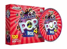 Zoom Karaoke Pop Box 4 - Karaoke Party Pack 6 CDG, 120 songs