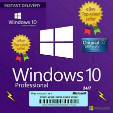 WINDOWS 10 Pro de 32 y 64 bits de clave de licencia Original Genuino 🔑 🔑
