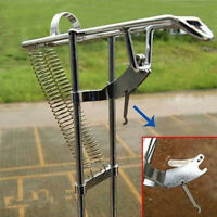 1 spring loaded automatic hooker fishing rod holder ebay for Spring loaded fishing rod holder