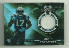 Devin Funchess 2015 Topps Chrome Rookie Relic Black Refractor 14/25!!
