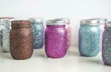 Glitz and Glam Inspired Mason Jar Candle- 4 Piece Set