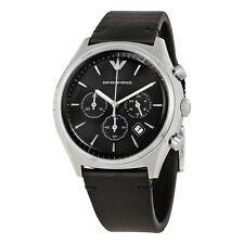 Emporio Armani Black Dial Chronograph Mens Watch AR1975