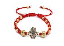 Pulsera Roja Para Protección De la Mano De Fátima Hamsa Bracelet for womens