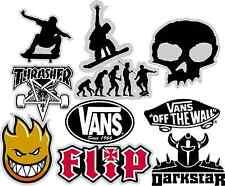 Full Sheet of skate Board Stickers Decal Vinyl Laptop Guitar Phone iPod
