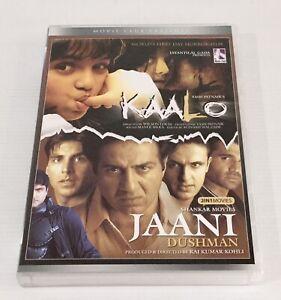 2 Hindi / Indian movies - Kaalo / Jaani Dushman DVD NTSC All