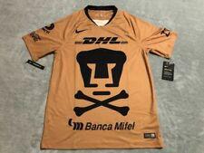 Nike Pumas UNAM Dia De Muertos Jersey Men's Sz Small S True Gold Aj0881 711