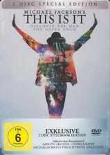 MICHAEL JACKSON'S THIS IS IT [Special Ed. 2 DVD - Metallbox NEU in Folie]