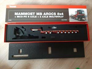 IMC Tekno 1:50 Mammoet 6 axle MCO-PX + 2 axle multidolly