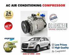 Para Audi Q7 3.0TDi 3/2006-6/2009 Nuevo AC Aire Acondicionado Estado Compresor