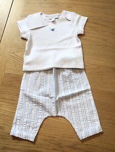 The Little White Company Under The Sea & Seersucker Pyjamas, 3-6 Months, NWT