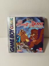 Factory Sealed Disney's Beauty and the Beast A Board Game Adventure Nintendo GBC