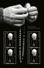 Micronesia - Pope John Paul II 5th Memorial Anniversary Sheet of 4 MNH