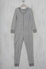 LANDS´END Jumpsuit XS hellgrau Onesie Pyjama Jumpsuit Overall Onesie
