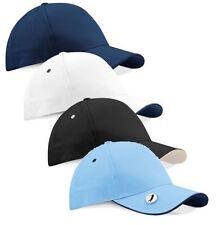 Gorra de hombre en color principal azul 100% algodón