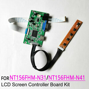 For NT156FHM-N31/N41 LCD panel 1920x1080 EDP 30-Pin display controller board kit