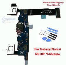 Samsung Galaxy Note 4 N910T T-Mobile Dock Charging Flex Port USB Mic w/Tools