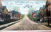 1907 Butler, PA Postcard: Fair View Avenue, Springdale - Pennsylvania Penn