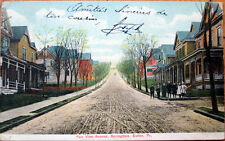 1907 Butler, PA Postcard: Fair View Avenue, Springdale - Pennsylvania Penn